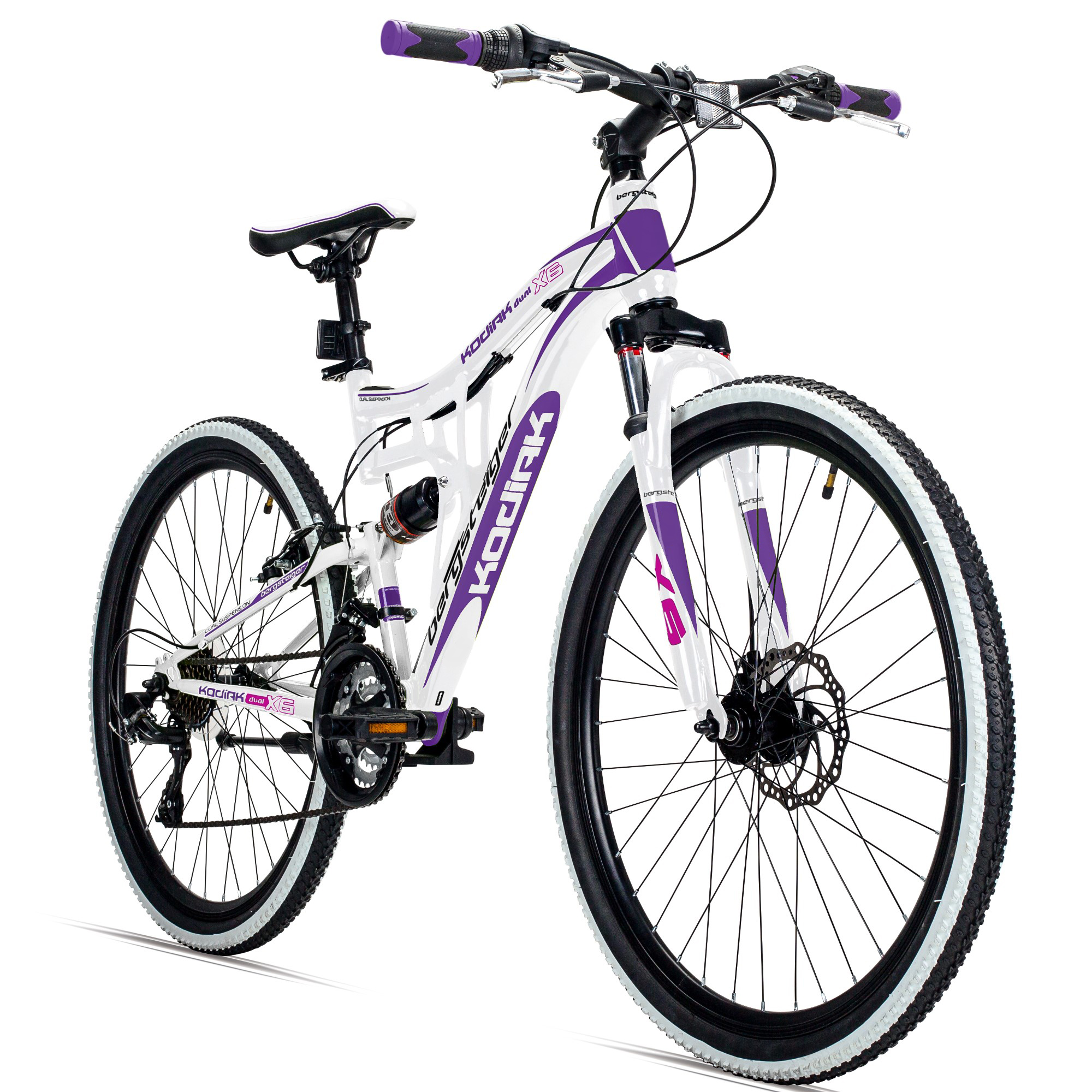 26 zoll mountainbike damen bergsteiger kodiak. Black Bedroom Furniture Sets. Home Design Ideas