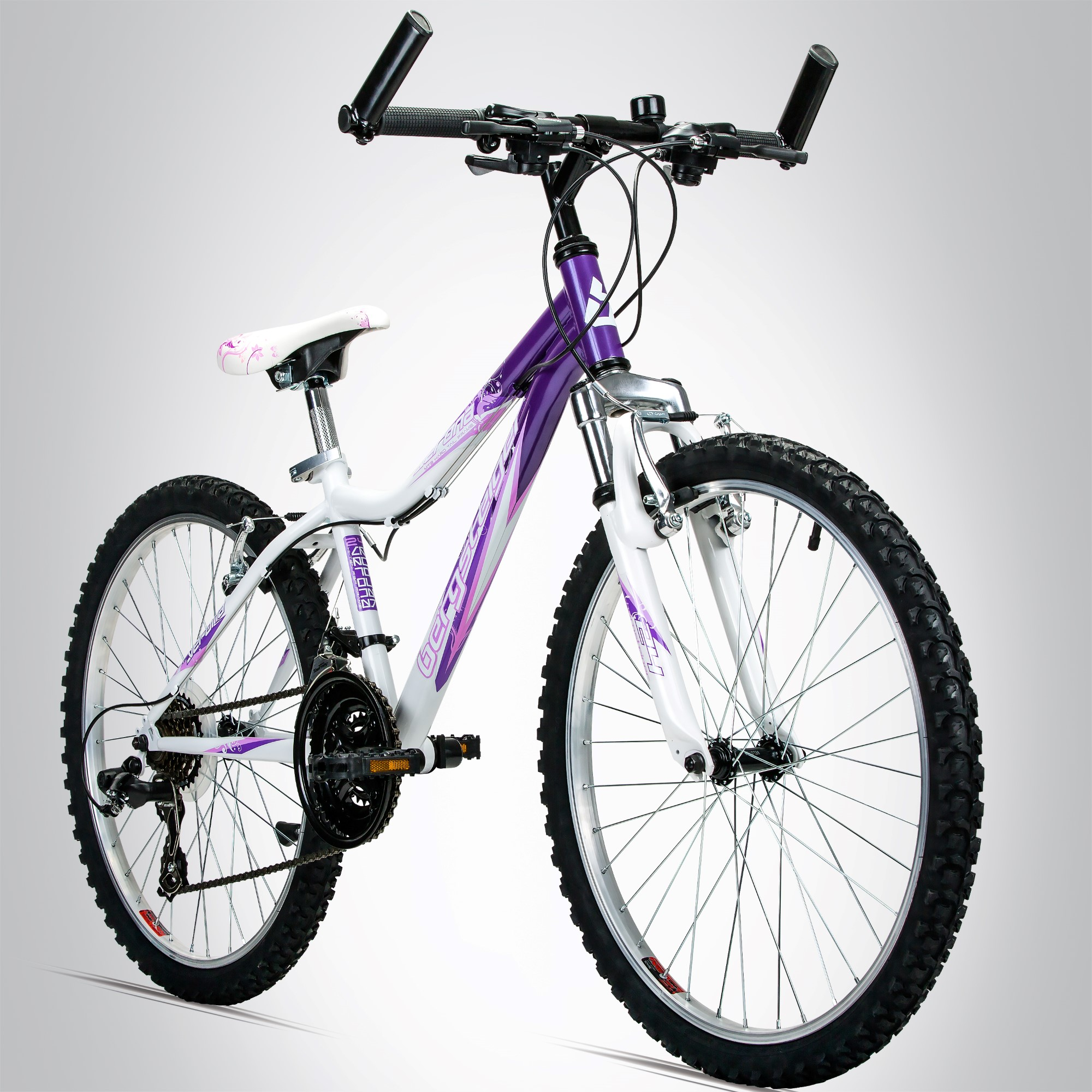 24 zoll mountainbike bergsteiger verona 18 shimano. Black Bedroom Furniture Sets. Home Design Ideas